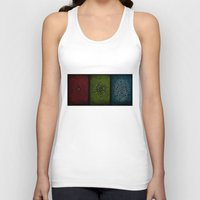 playstation Tank Tops featuring Yesterday, Today, Tomorrow by Kristijan D.