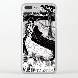 Cliche Gothic Romance Clear iPhone Case
