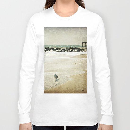"""Sea Dream"" Coastal Photography Long Sleeve T-shirt"