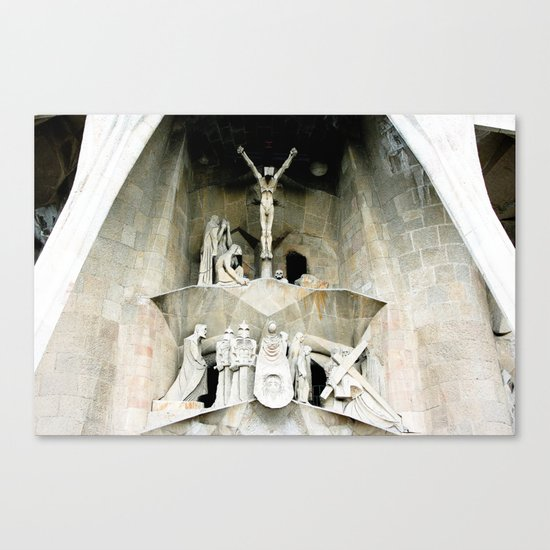 Gaudi's Calvary Canvas Print