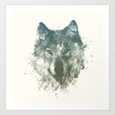 Wolf Like Me Art Print