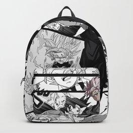 Goku Black Dragon Ball Super manga version Backpack