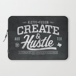 KLCTVEfusion Create and Hustle Laptop Sleeve