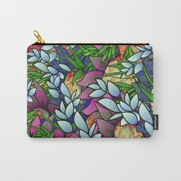 Floral Abstract Artwork G464 Carry-All Pouch