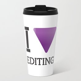 [ i love editing ] Travel Mug