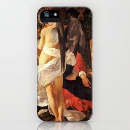 Merisi da Caravaggio - Ruhe auf der Flucht nach Ägypten iPhone Case