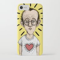 keith haring iPhone & iPod Cases featuring Keith Haring by baldur