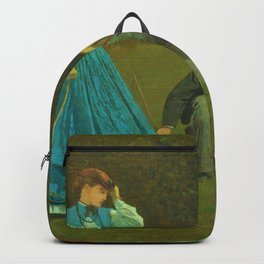 Croquet Scene - Digital Remastered Edition Backpack