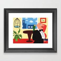 Jake's Escape Framed Art Print