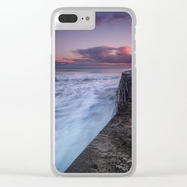 Another Cobb Sunset Clear iPhone Case