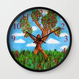 Menses 40: The Venus Tree Wall Clock