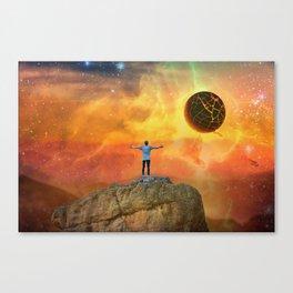 The End, Sci Fi Art, Home Decor, Scenic Wall Art, Printable Artwork, Digital Print, Fantasy Canvas Print