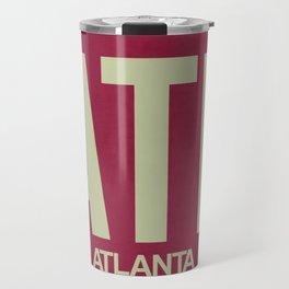 ATL Atlanta Luggage Tag 2 Travel Mug