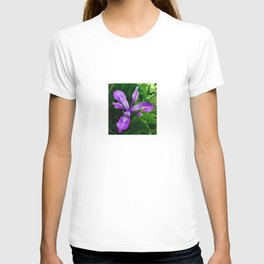 Wild Purple Iris T-shirt