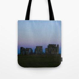 Stonehenge In Pink Tote Bag