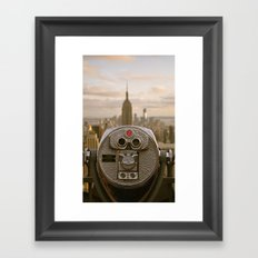Turn To Clear Vision Framed Art Print