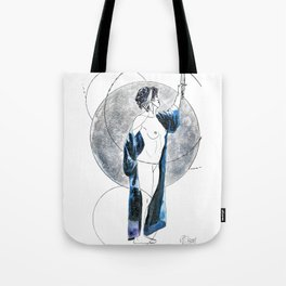 Singing Down the Moon Tote Bag