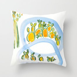 Plant Squad Throw Pillow