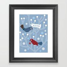 4 Seasons - Winter Framed Art Print