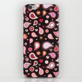 Pasley Burgundy iPhone Skin