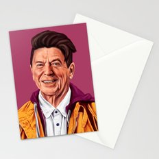 Hipstory - Ronald Reagan Stationery Cards