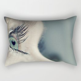 The love in her eyes Rectangular Pillow