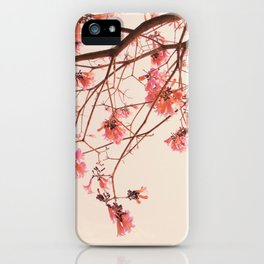 Flowery Trees Photography iPhone Case