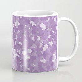 Amethyst Orchid Polka Dot Bubbbles Coffee Mug