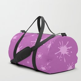 pink spots on pink background Duffle Bag
