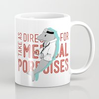 medical Mugs featuring Medical Porpoises by theartisticfox