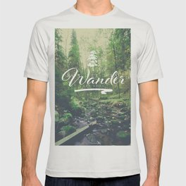 Mountain of solitude - text version T-shirt