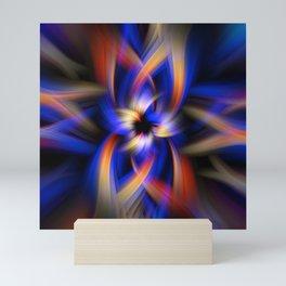 Abstract Fractal Background 5 Mini Art Print