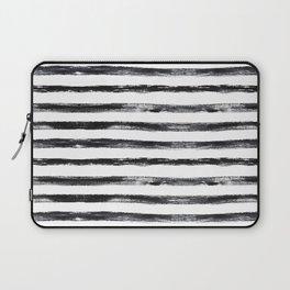 Grungy stripes Laptop Sleeve