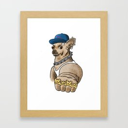 bad ass koyuki Framed Art Print