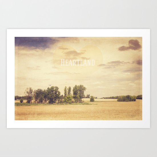 The Heartland Art Print