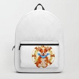 Zen corgi Backpack