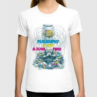 philosophy T-shirts featuring Philosophy is not a junk food by Ruta13