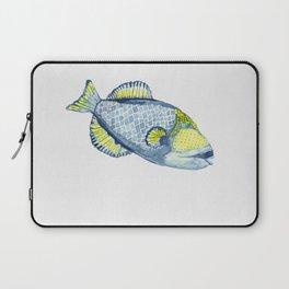 Tropical Titan Trigger fish Laptop Sleeve