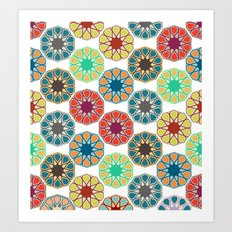 Pattern Untitled Art Print