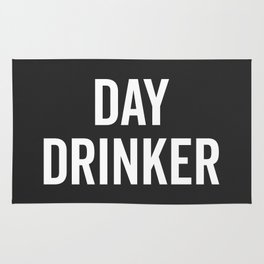 Day Drinker Funny Quote Rug