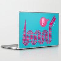 crocodile Laptop & iPad Skins featuring crocodile by doretta rinaldi