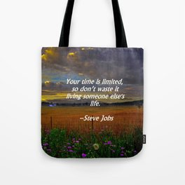 Someone Else's Life Tote Bag