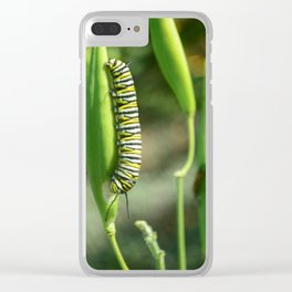 Pillar of Change Clear iPhone Case