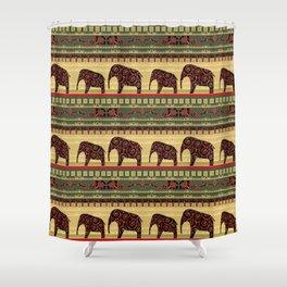 African motifs. Shower Curtain