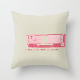Cart #17 Throw Pillow