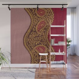 Arabian Nights in Red and Gold Wall Mural