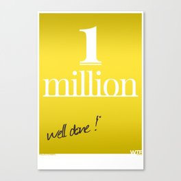 Well Done Canvas Print