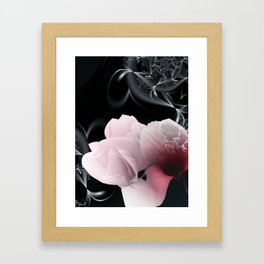 take time to look at flowers -16- Framed Art Print