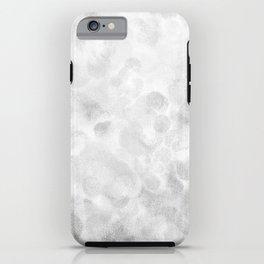 Shiny Sparkling Metal Snow iPhone Case