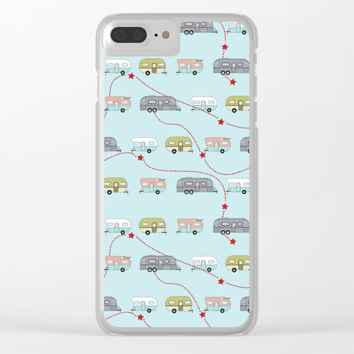 Get Your Kicks Clear iPhone Case